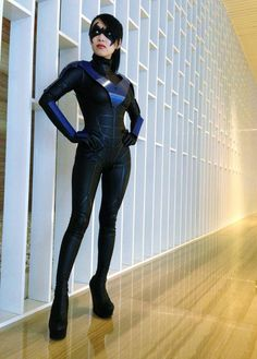 Lady Nightwing by VampyBitMe. #Rule63