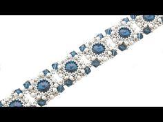 [Pattern/Tutorial] Bracelet off oval units - DIY (Beads) - YouTube