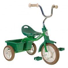 Tricycle avec bacs de transport Vert  Italtrike