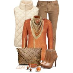 Pumpkin Spiced Latte, created by lmhall96 on Polyvore