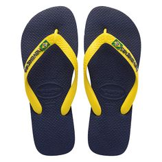 Tong Havaianas Vert olive Taille du 39 au 44 BRASIL MIX Green Olive