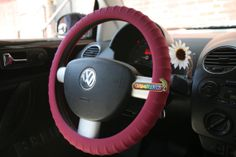 New SILICONE Maroon Car Steering Wheel Cover by CameleoncoverUSA, $24.99 <3