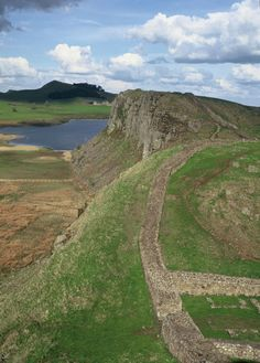 Hadrian's Wall - my Grade 4 Pen Pal was from the Lake District and he often talked about Hadrian's Wall, I wonder where you are David J Dixon?