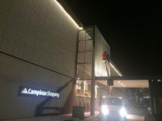 Shopping Campinas Iluminação externa de Natal 2015 - T74Brasil