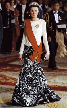 Princess Letizia and Mellerio Shell Tiara
