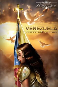 Sacred Trinity: Arc Of Valor by Mystic-Oracle Pray For Venezuela, Joan Of Arc, Waiting For Him, Spiritual Warfare, Creative Art, Mystic, Avatar, Wonder Woman, Fantasy