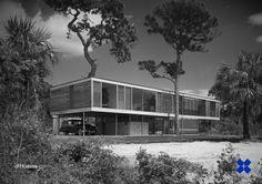Paul Rudolph /// Leavengood Residence /// St. Petersburg, Florida, USA /// 1951