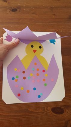 42 fun and easy easter diy crafts ideas for kids - page 6 of 42 Easter Art, Easter Crafts For Kids, Toddler Crafts, Daycare Crafts, Classroom Crafts, Easter Activities, Preschool Activities, Spring Crafts, Holiday Crafts