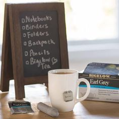 This is why Bigelow Tea should be on every back-to-school list this year. #tea #school