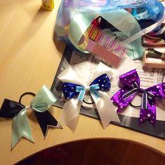 Cheer bows , first bows, buy my bows!