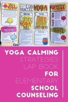 This lap book is designed to help students identify triggering situations or experiences that occur before they feel overwhelmed, stressed, frustrated, or angry. Students then practice calming yoga poses to regulate their emotions. Students learn about what yoga is, the benefits for their minds and bodies, and how and when to practice yoga. Includes 8 calming yoga poses plus 14 additional yoga poses to practice for strength.
