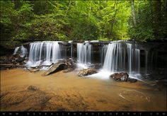 """""""Perpetuelles"""" - Waterfalls in Motion by Dave Allen Photography, via Flickr"""
