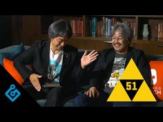 Miyamoto and Aonuma, Nintendo's Power Couple, are the special guests in an extremely fun interview