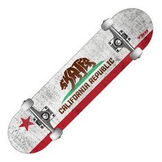 RD Deluxe Series Skateboard, CA Bear