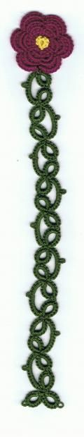 Flower Bookmark by sarahwood8