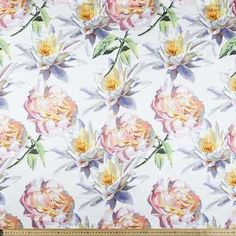 Fabric By the Metre From Spotlight - Widest Affordable Range Printed Cotton, Spotlight, Cotton Fabric, Floral Prints, Lily, Rose, Pattern, Floral Patterns, Flower Prints