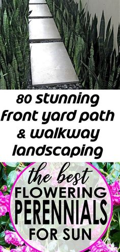 80 stunning front yard path & walkway landscaping ideas 5 – front yard ideas with porch