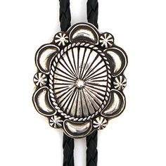 Silver Concho Bolo at Maverick Western Wear