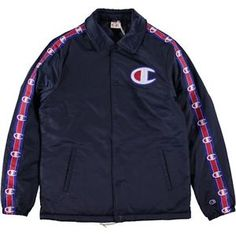 CHAMPION REVERSE WEAVE COACH JACKET NAVY NEW | eBay