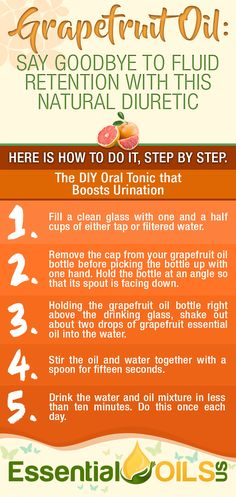 Grapefruit Oil: Lose Weight Fast in a Safe and Natural Way - The Daily Tonic Method for a Fast Metabolism Grapefruit Essential Oil Benefits, Health Benefits Of Grapefruit, Citrus Essential Oil, Citrus Oil, Essential Oil Bottles, Essential Oil Uses, Natural Diuretic, Forever Living Products, Fast Metabolism