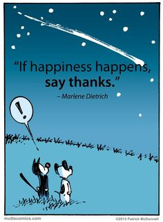 If happiness happens... Love Mutts comics!