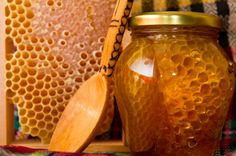 Eating local honey every day and chewing honey comb may help mitigate seasonal allergies and hay fever. Description from motherearthnews.com. I searched for this on bing.com/images