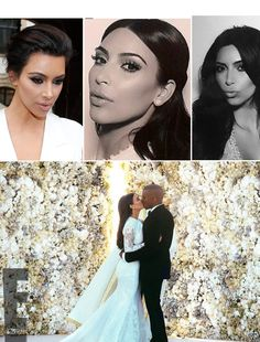 Kim Kardashian rocked three hairstyles on her wedding hair -- she used Living Proof & hairstylist Chris McMillan to look perfect on her big day!