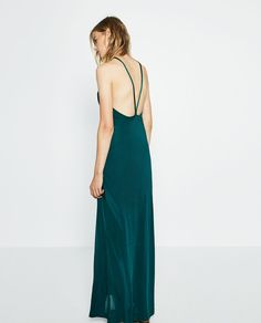 HALTER NECK DRESS-DRESSES-WOMAN | ZARA United States