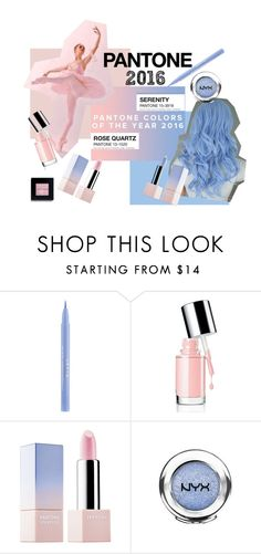 """""""Pantone Beauty"""" by istyled ❤ liked on Polyvore featuring beauty, Stila, Sephora Collection and Bobbi Brown Cosmetics"""