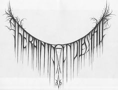 Amazing hand-drawn logos by Christophe Szpajdel.