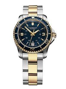 Women's Wrist Watches - Victorinox Swiss Army Maverick Blue Dial Womens Watch 249080 * Click image for more details.