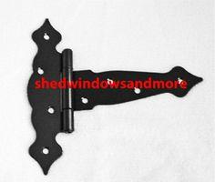 Shed Door Hinges, T Hinges, Shed Doors, Door Gate, Shed Windows, Shed Makeover, Steel Sheds, Office Playroom, Gates