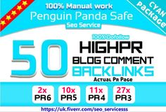 do 50 High PR DoFollow blog comments PR3 to PR6 by seo_servicesss