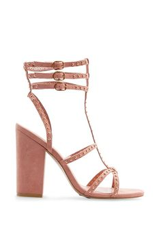 MANGO - SHOES - TOUCH - Studded straps sandals
