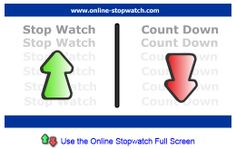 ♦♦ STOP WATCH ♦♦ Simple online stop watch, countdown timer, alarm clock and much more.