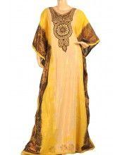 """Everlasting Sun"" Cotton abaya design"