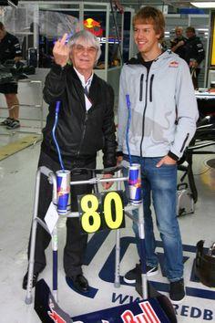 Sebastian Vettel - Bernie Ecclestone 80