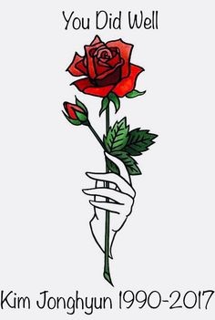 Rest In Peace Kim Jonghyun you did well