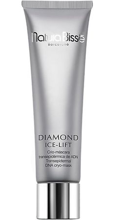 Natura-Bisse-Diamond-Ice-Lift-Murale This unique mask is formulated with high concentrations of Marine DNA that hydrate the skin. Face Care, Skin Care, Diamond Ice, Beauty Bar, Facial Masks, Beauty Hacks, Beauty Tips, Pedicure, Mascara