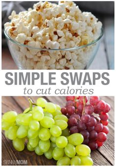 Here are some simple swaps to cut some serious calories in your day.