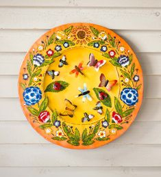 Our Lighted Nature Recycled Oil Drum Lid Wall Art is fascinating in both its story and design. Each piece is handcrafted from salvaged oil drums by an artisan community in Bali. Recycled Metal Art, Oil Drum, Garden Whimsy, Outdoor Gardens, Recycling, Arts And Crafts, Hand Painted, Sculpture, 3d