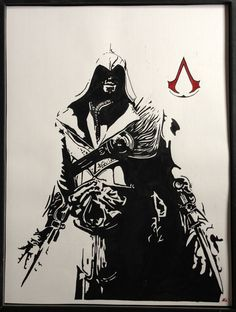 Ezio, my favorite Assassin (at the moment). He is gorgeous, stylish, and honest. At times.