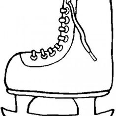 Shoes Winter Boots Coloring Page Art work Pinterest Bible