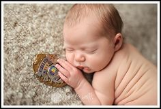 Image detail for -newborn with parents police badge