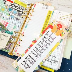 theplannersociety: I kinda have a thing for page markers, and I want one on every page of my planner. #plannerlove
