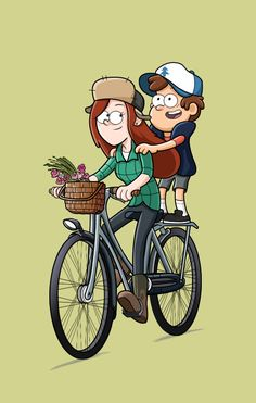 Wendy and Dipper <3