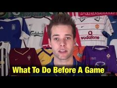 What To Do Before Soccer Games