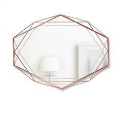 Miroir Prisma Cuivre - Umbra