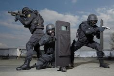 Bulgarian counter-terrorist unit of the police SOBT aka red barrets