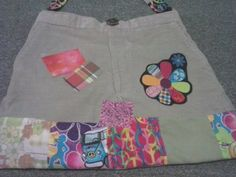 Funky Hippie Bag From Pants VW Bus Peace by MommaHippieCreations, $30.00